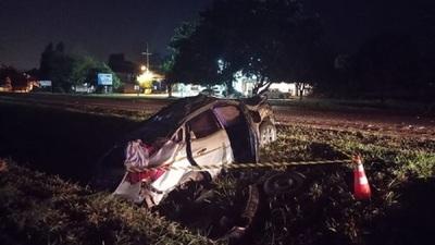 Muere una niña de 7 años en terrible accidente de tránsito en Minga Guazú