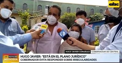 """""""Todo se dirime en el plano jurídico"""", dice Hugo Javier sobre irregularidades"""