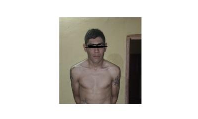 Escurridizo delincuente de Concepción fue detenido