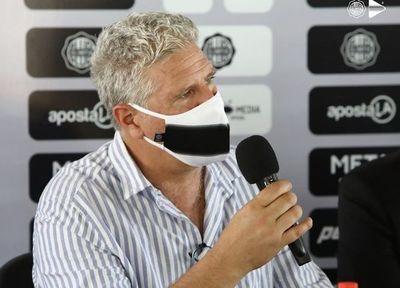 Álvaro Gutiérrez: 'Vamos a lograr que Olimpia ocupe los lugares que merece'