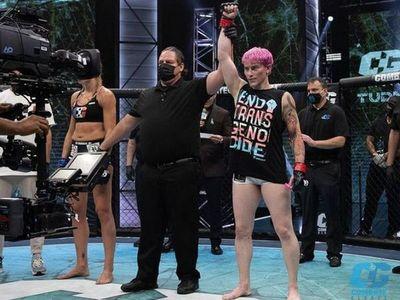 """Luchadora trans de MMA genera polémica: """"Esto representa una amenaza letal para las mujeres"""""""
