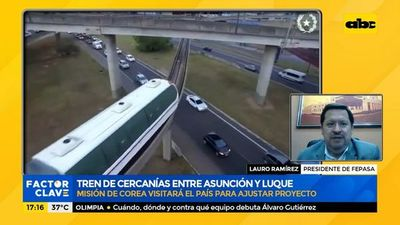 Tren de cercanías entre Asunción y Luque