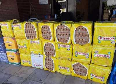 Lanzan operativo barrera para mitigar el ingreso ilegal de huevos