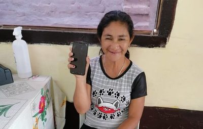 Concepción: Con ayuda de la policía, una mujer recupera su celular robado