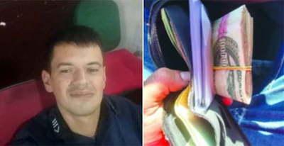 Policía devolvió billetera con G. 3 millones en Ciudad del Este