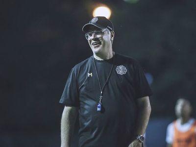 Las fotos del primer entrenamiento de Álvaro Gutiérrez en Olimpia