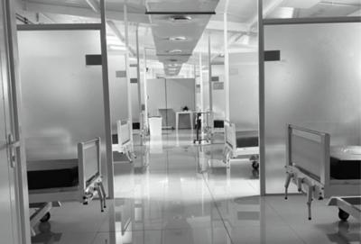 Bloque respiratorio, sin ningún paciente COVID en el Hospital Nacional