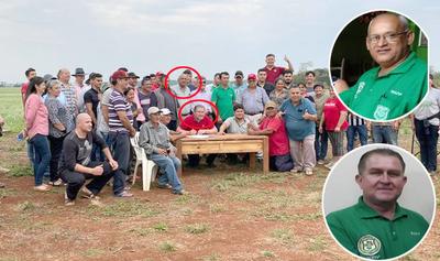 Policías retirados encabezan invasiones de tierras propiciadas por Digno Caballero en Minga Guazú – Diario TNPRESS