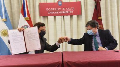 Paraguay y Salta firman un convenio sobre turismo en pandemia