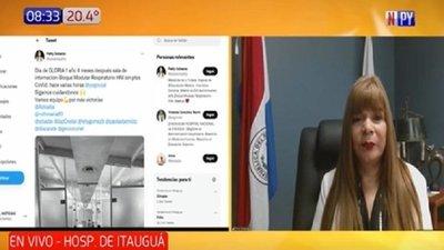 Alentador: Sin pacientes internados por covid en Hospital de Itauguá