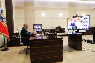 Putin está aislado por ser contacto estrecho de varios casos positivos de coronavirus