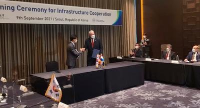 Equipo técnico y político de Corea vendrá al país para concretar acuerdo definitivo del Tren de Cercanías