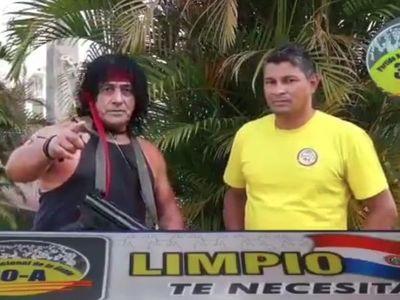 La viral propuesta contra la inseguridad del Peque Benítez, candidato a Intendente de Limpio