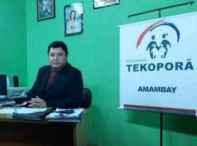 Craliño utiliza oficina de Tekoporã para hacer campaña política en Pedro Juan Caballero