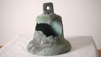 """La campana de la nave """"Santa María"""", un objeto único a subasta en Miami"""