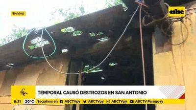 San Antonio: pobladores de asentamiento afectados por granizos piden ayuda a SEN