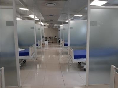 Hospital Nacional no tiene internados por Covid-19 en salas normales