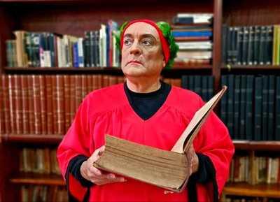 Dante Alighieri será recordado con la puesta «Dante Universal en 3 colores» en el Teatro Municipal