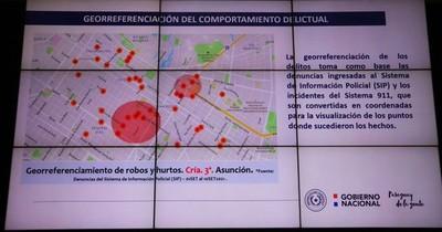 """La Nación / Policía se moverá de acuerdo a zonas rojas del """"mapa de inseguridad"""""""