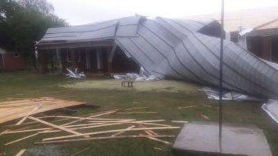 Fuertes lluvias dejaron cuantiosos daños en Itapúa y Alto Paraná
