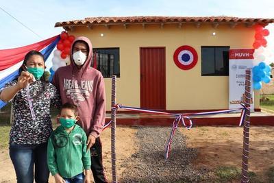 """Unas 300 familias paraguayas serán beneficiadas con el programa """"Mi Vivienda"""" del MUVH con apoyo de la AFD"""