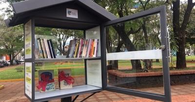 La Nación / Llega la primera biblioteca callejera a Itapúa