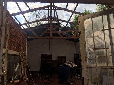 Crónica / Capitán Miranda: arrasada por la tormenta