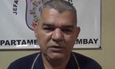 Asume nuevo jefe policial de Investigación de Delitos del Caaguazú