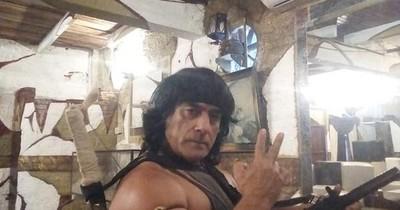 La Nación / Rambo paraguayo, el personaje favorito de las campañas políticas