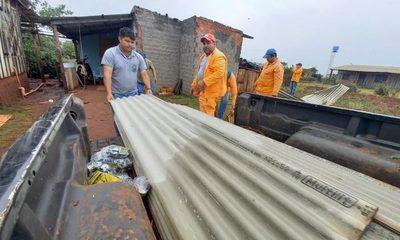 Comuna de Santa Rita brinda asistencia tras temporal