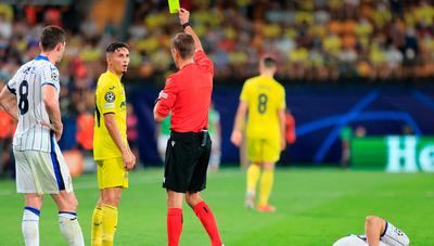 Cuatro goles y un expulsado deja el empate entre el Villarreal y Atalanta