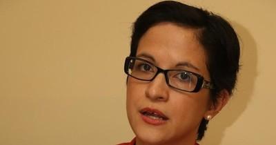 La Nación / Lea Giménez lamentó la exclusión de mujeres en la reunión con el titular del BID