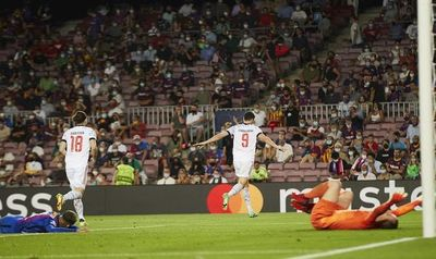 El Barcelona no puede con un Bayern Múnich muy superior