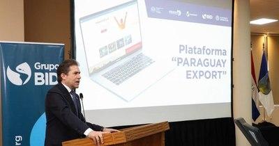"""La Nación / Plataforma """"Paraguay Export"""" fue presentada por el MIC y el BID"""