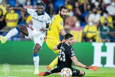 El Villarreal empata con el Atalanta en su arranque de Champions