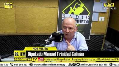 Diputado denuncia montaje de Miguel Prieto y dice que Airaldi es la mejor opción para CDE