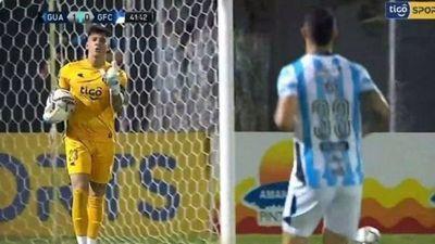 Cerro presenta nota por insultos de arquero de Guaraní contra un rival