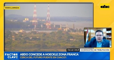 Viceministro justifica concesión a exasesor de Abdo Benítez