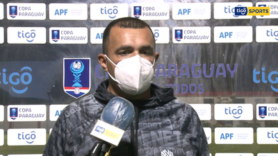 Braulio Armoa, entrenador de Guaraní de Trinidad