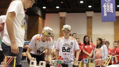 Espacios de Ser lanza becas para participar del torneo de robótica mundial