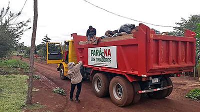 """""""Pará-na los criaderos"""": trabajos de rastrillaje y fumigación previstos para hoy jueves"""