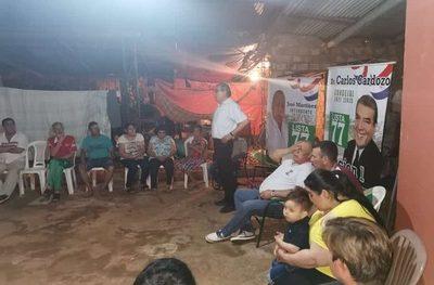 José Martínez lleva propuestas a vecinos del barrio San Isidro de Ciudad del Este – Diario TNPRESS