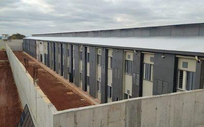 Ya está a punto de terminar las obras de la nueva sede penitenciaria de Minga Guazú – Diario TNPRESS
