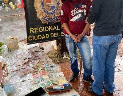 «Yuyero Veloz» cae por comercializar drogas en su puesto de tereré, en Área 3 – Diario TNPRESS