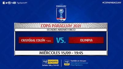 Olimpia estrena técnico en la Copa Paraguay