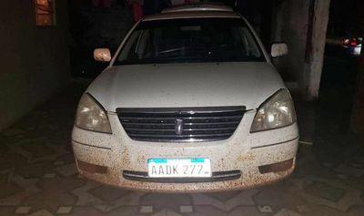 Robacoches fueron detenidos tras hurtar vehículo con rastreo satelital