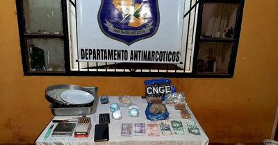 Antinarcóticos de la Policía incautó crac y cocaína