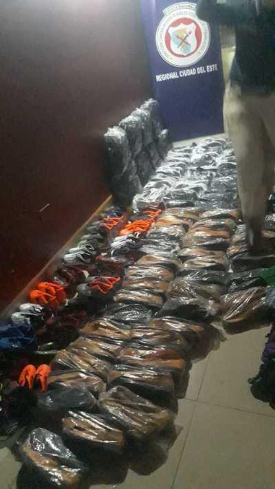 Incautan mercaderías de contrabando en Minga Guazú