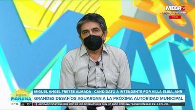 """Candidato a intendente de Villa Elisa por la ANR afirma que su prioridad será la """"seguridad"""""""