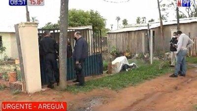 Impactante: Mujer muere aplastada por un pilar de cemento en Areguá